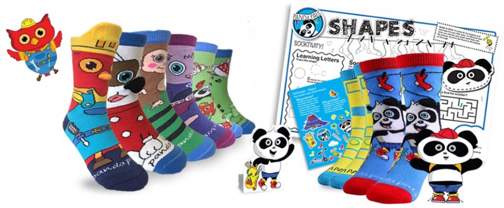 Sock Panda for kids