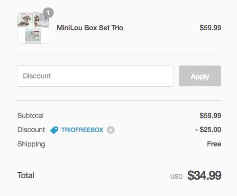 mini lou free shipping
