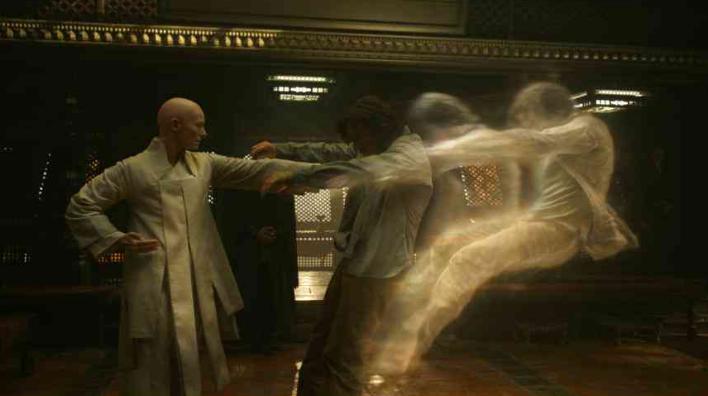 Tilda Swinton in Doctor Strange