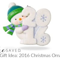 GREAT Gift Idea: 2016 Christmas Ornaments