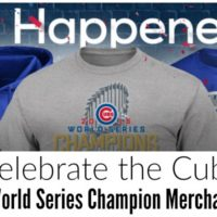 Celebrate the Cubs with World Series Champion Merchandise! (plus free shipping over $30!)