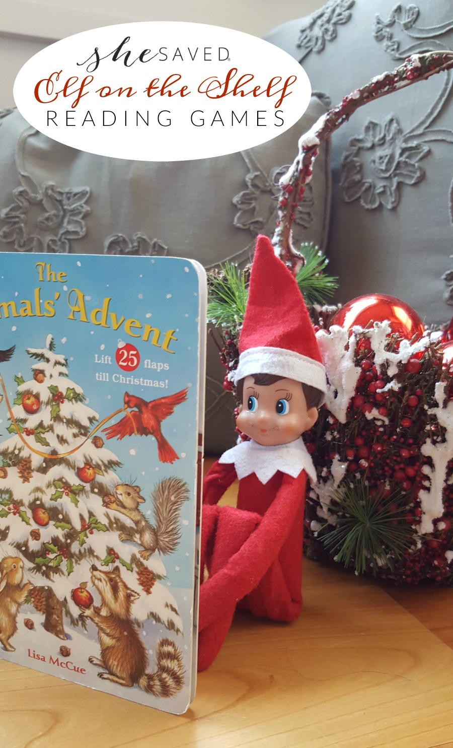 The Elf on the Shelf can help with your educational goals too, here are some fun reading Elf on the Shelf game for to play!