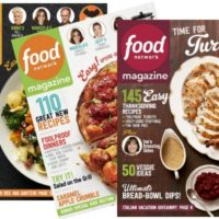 RARE!! Food Network Magazine: ONLY $4.50 per Year!