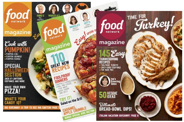 food-network-magazines