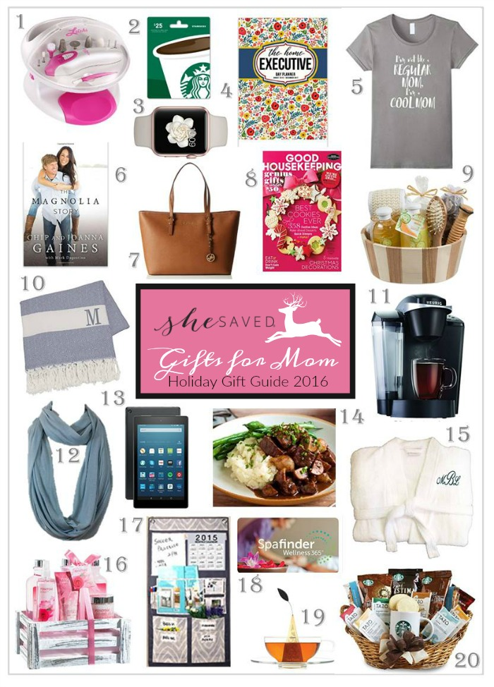 Holiday Gift Guide Gifts Mom Will Love Shesaved