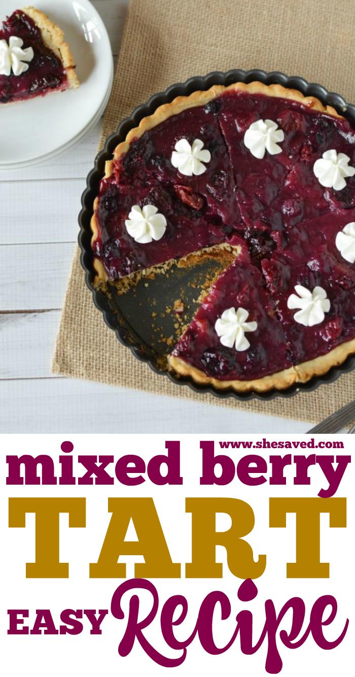 Easy Mixed Berry Tart Recipe