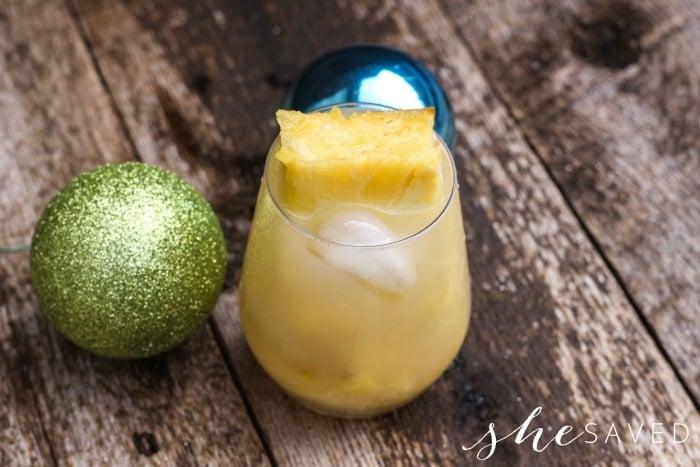 Sparking Pineapple Drink