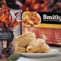 Holiday Entertaining Idea: Smithfield Bacon Bar + GIVEAWAY (Bacon for a YEAR! $416 value!)