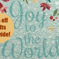 Black Friday STITCHED Quilt Sale: Save 30% Sitewide!