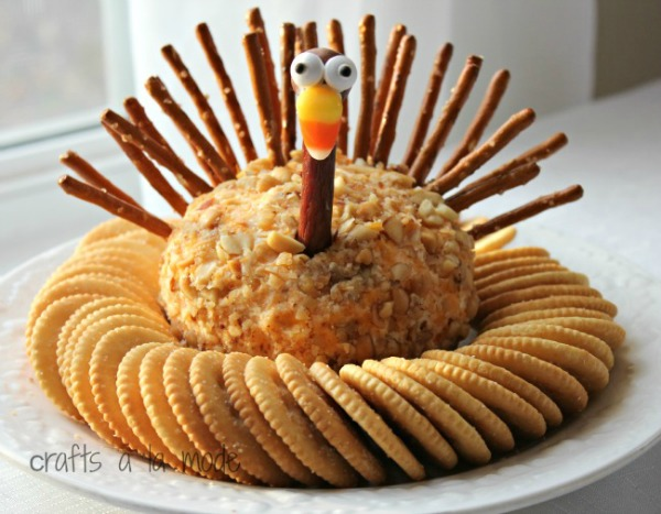 turkey-cheese-ball-from-crafts-a-la-mode