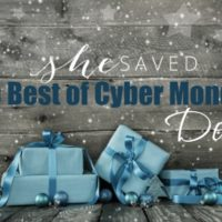 In Case You Missed! My Favorite Cyber Monday Deals: Recap and Round Up