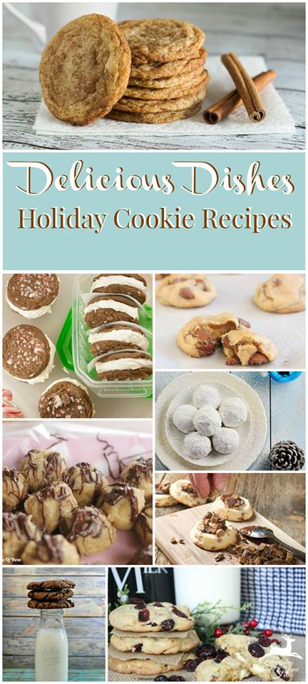 A wonderful Christmas Cookie Round Up of favorite holiday cookies to bake!