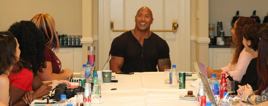 Dwayne Johnson Interview Moana