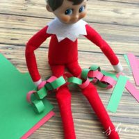 Elf on the Shelf Christmas Day Countdown