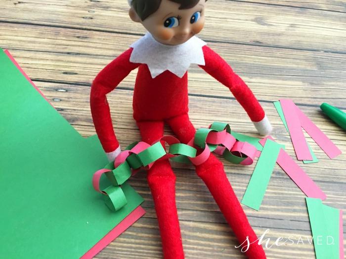 Elf on the Shelf Countdown