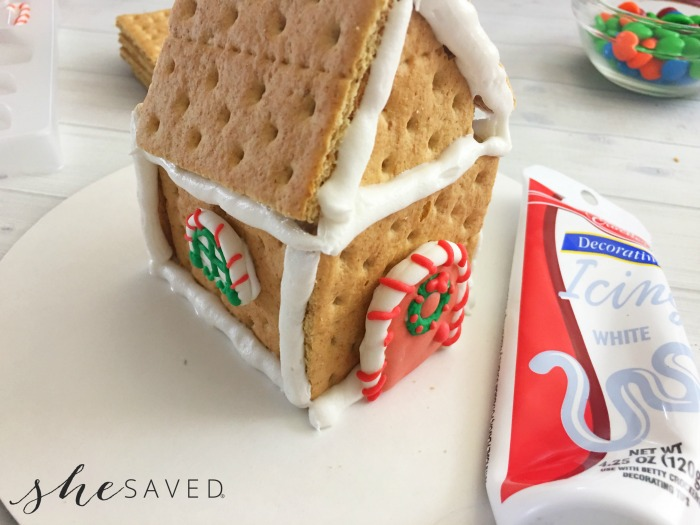 Gingerbread House Constructed