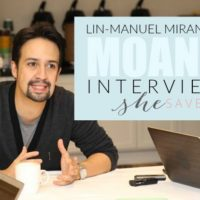 Lin-Manuel Miranda Interview: Making the Music in Moana