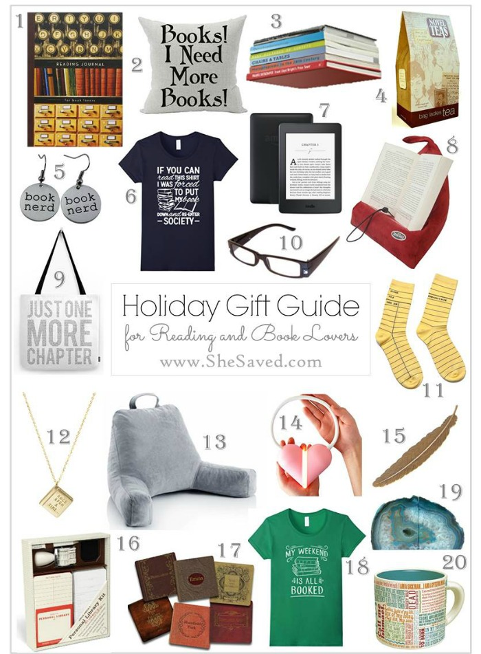 If you are looking for gift ideas for your favorite reader, I have you covered with my Book Lover Gift Guide!