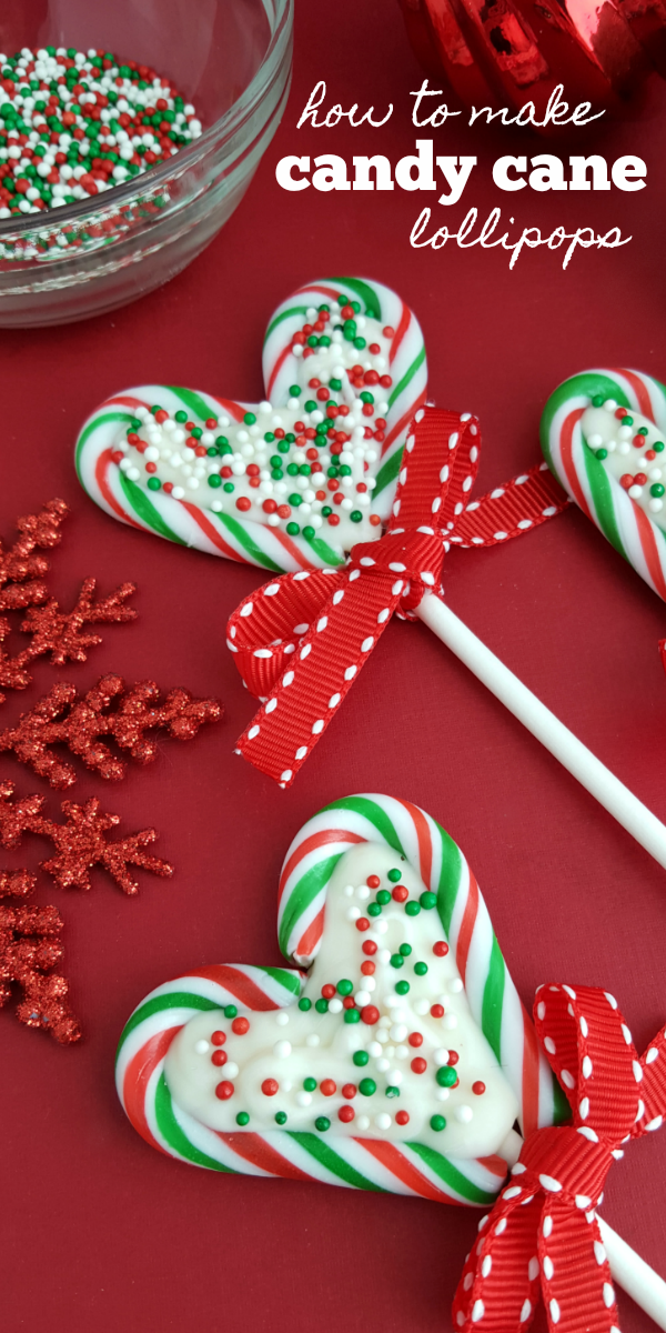 How to Make Candy Cane Lollipops