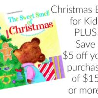 The Sweet Smell of Christmas Scratch & Sniff Book