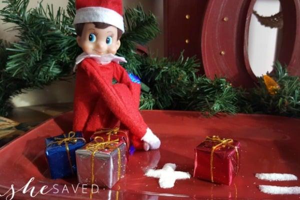 Fun math with Elf on the Shelf