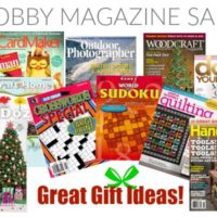 GREAT Gift Idea: Hobby Magazines for Everyone on Your List!