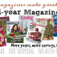 GREAT Gift Idea: Magazines at Deep Discounts