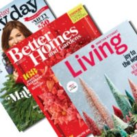 *HOT* Grab THREE Subscriptions for $11.99! (Rachael Ray Everyday, Better Homes & Gardens, and Martha Stewart)