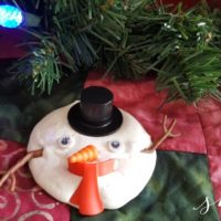 Great Gift Idea: Melting Snowman Toy