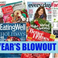 New Year's BLOWOUT Magazine Sale!