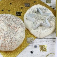 New Year's Eve Fun: Easy Glitter Playdough Recipe