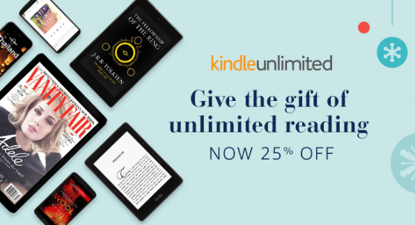 Great Gift Idea: The Gift of UNLIMITED Reading