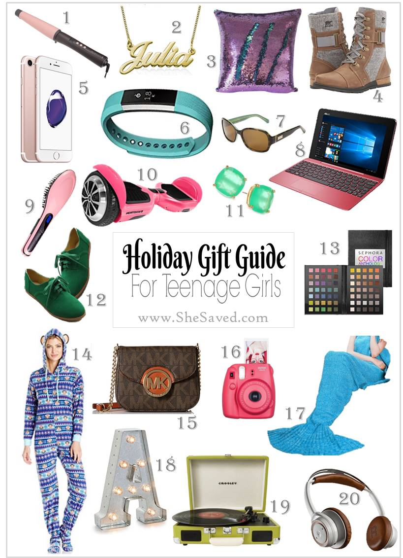 Holiday Gift Guide Gifts For Teen Girls Shesaved