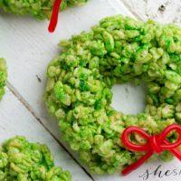 Rice Krispie Wreaths