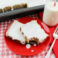 Cinnamon Roll Easy Cookie Bars