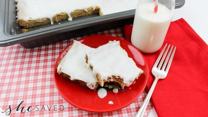 Cinnamon Cookie Bars