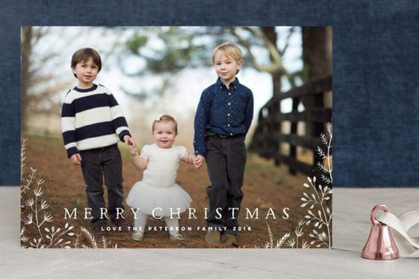 Christmas Cards from Minted.com (and FREE Addressing Tool!) + Giveaway!!