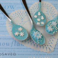 Frozen Themed Hot Chocolate Spoons