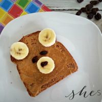 Teddy Bear Toast Kid's Breakfast