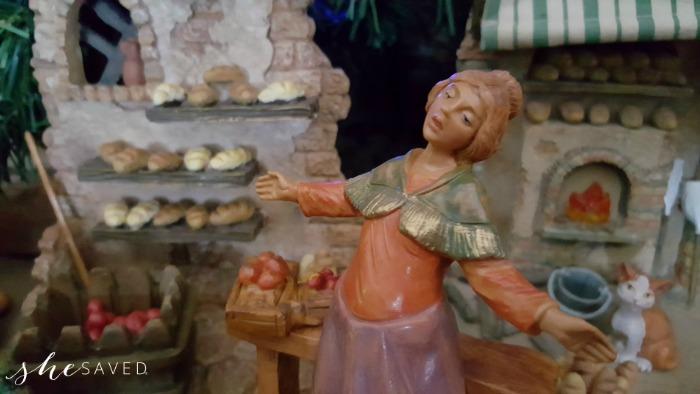 Fontanini nativity set figurine Christmas decor and collectible