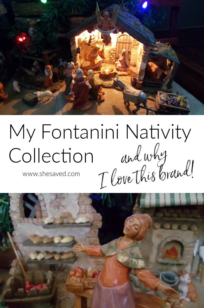 Resin Fontanini Nativity Characters