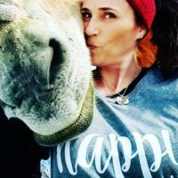 Be Happy. My Mule Story + 1/2 Off Shirts that Speak YOUR Story!
