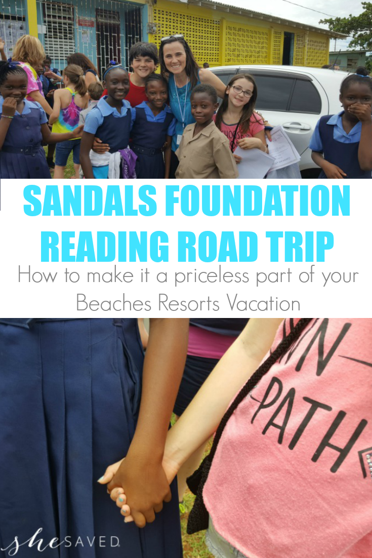 Making the Sandals Reading Road Trip part of a priceless family vacation in the Caribbean