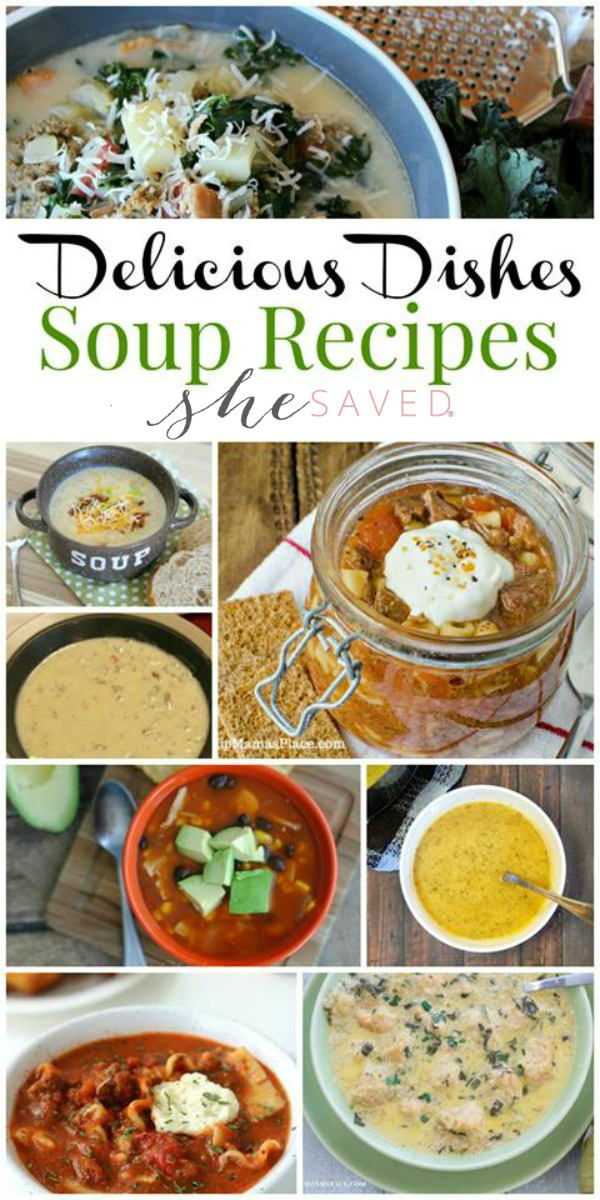 A wonderful round up of favorite tried and tested soup recipes!