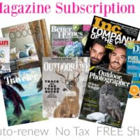 *HOT* $5 Magazine Subscription Sale! GREAT Titles: INC, Family Fun, Outdoor Life + MORE!