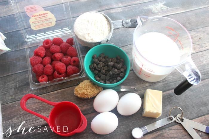 Pancake Muffins Recipe Ingredients