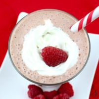 Chocolate Raspberry Smoothie Recipe (Only 5 Weight Watchers Points!)