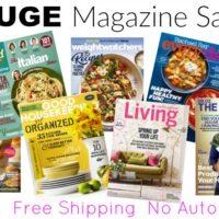 President's Day Weekend Magazine Sale!