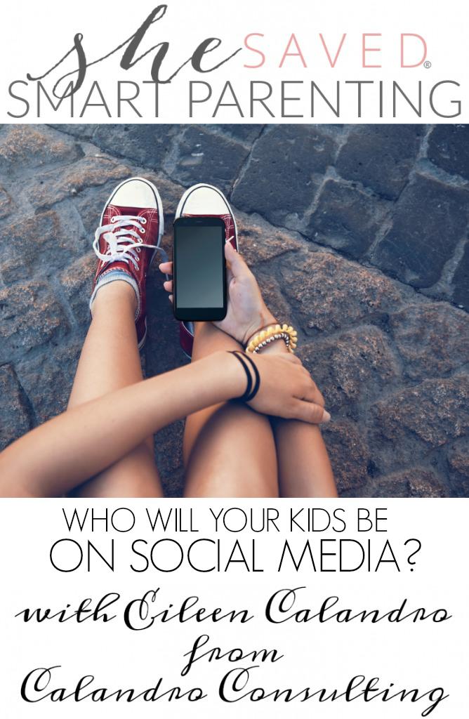 Who will your kids be on social media? Help them define themselves in this Smart Parenting article from Eileen Calandro.