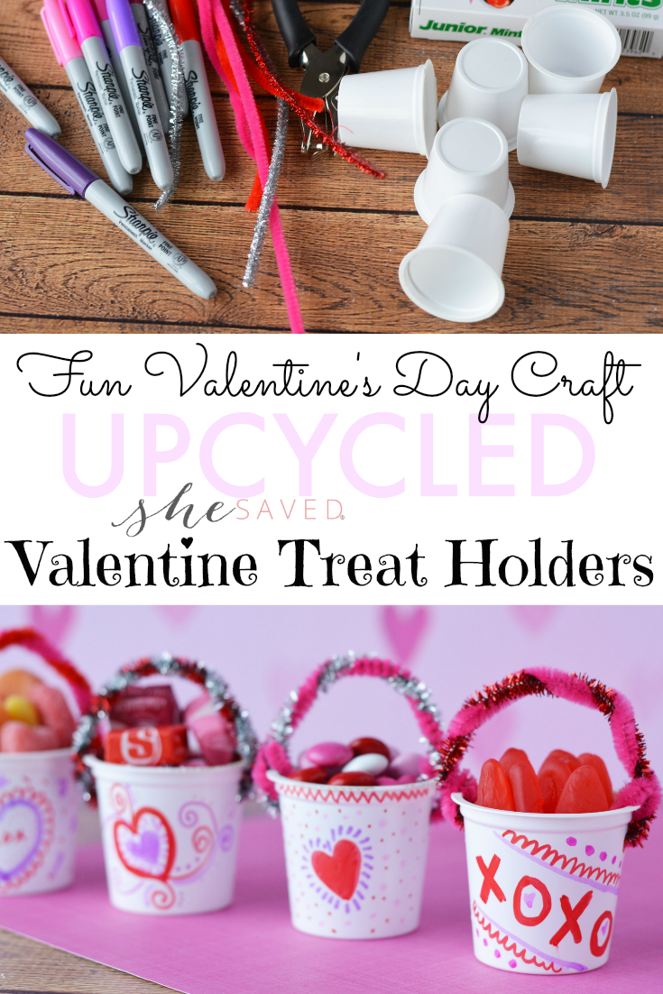 This Kcup Upcycle Craft is a fun Valentine's Day project and a great way to start conversations about recycling and repurposing items!